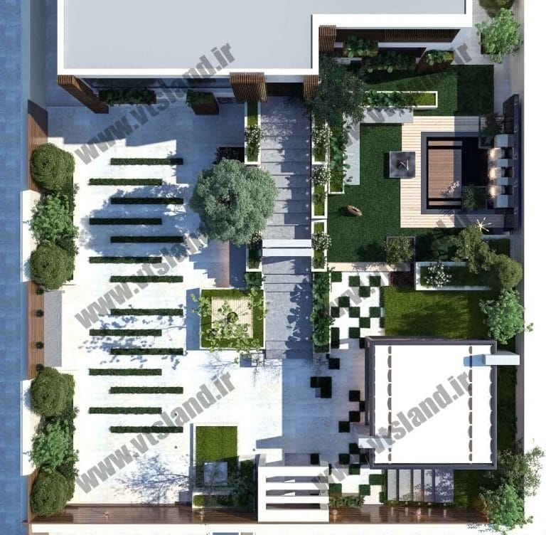 طراحی محوطه-طراحی فضای سبز