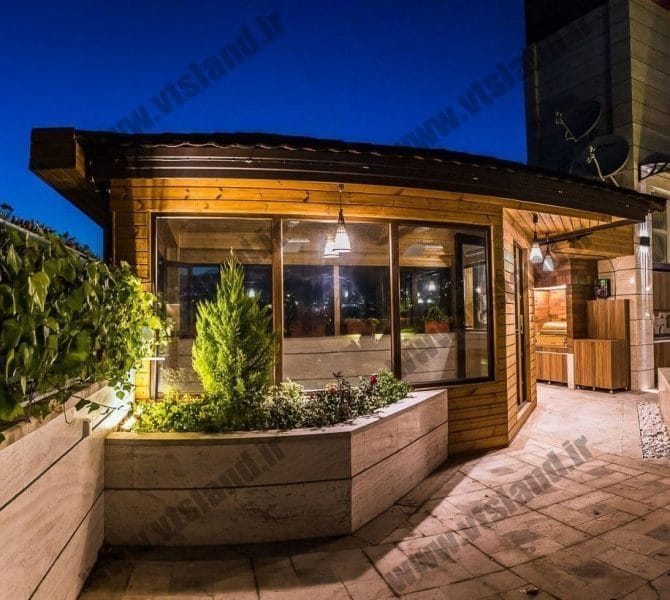روف گاردن-rooftop garden