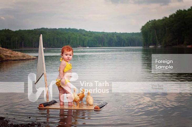 لوکیشن عکاسی کودک