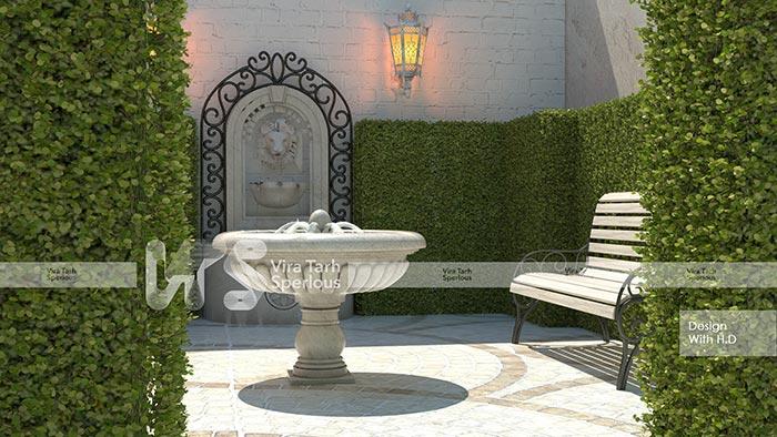 طراحی باغ آتلیه