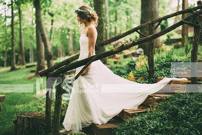 طراحی باغ عروس و داماد