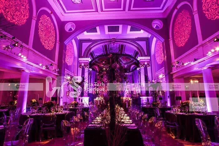 طراحی و اجرای تالار عروسی