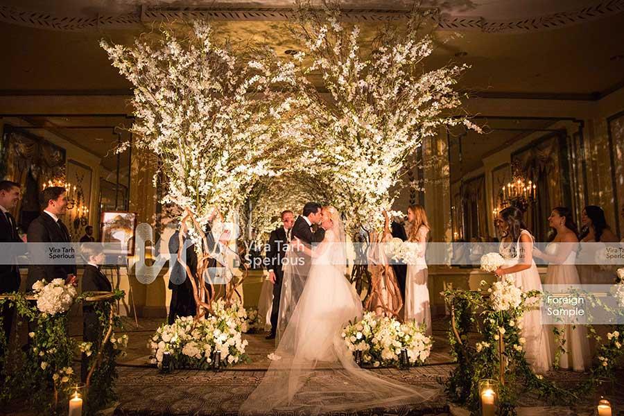 طراحی تالار عروسی