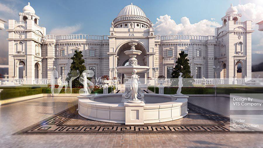 طراحی باغ عروسی