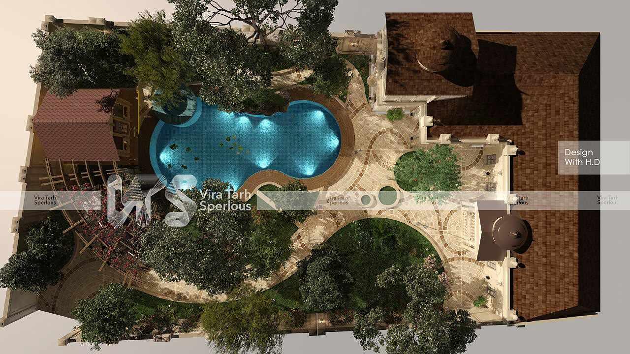 طراحی باغ ویلا