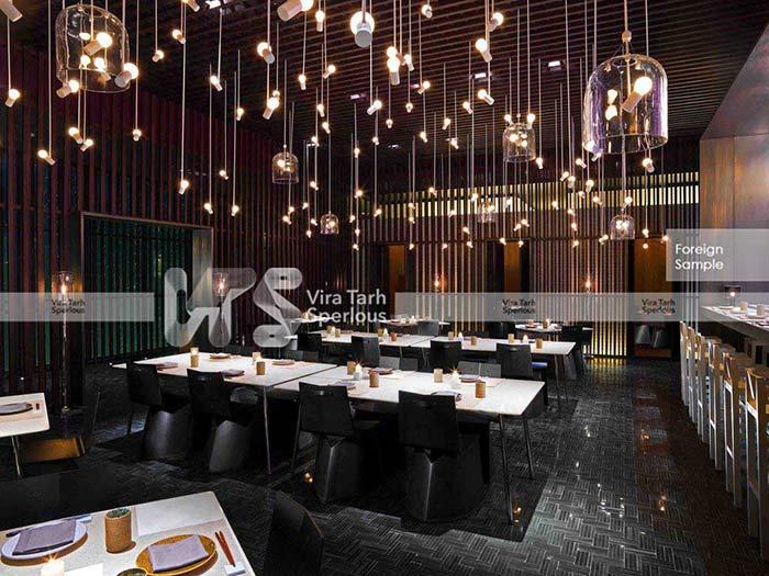 طراحی تالار رستوران