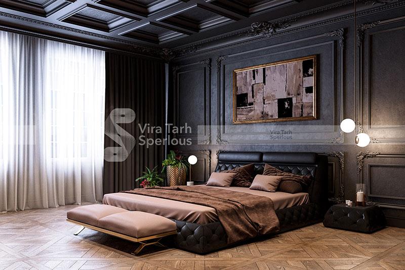 طراحی  اتاق خواب وبلا