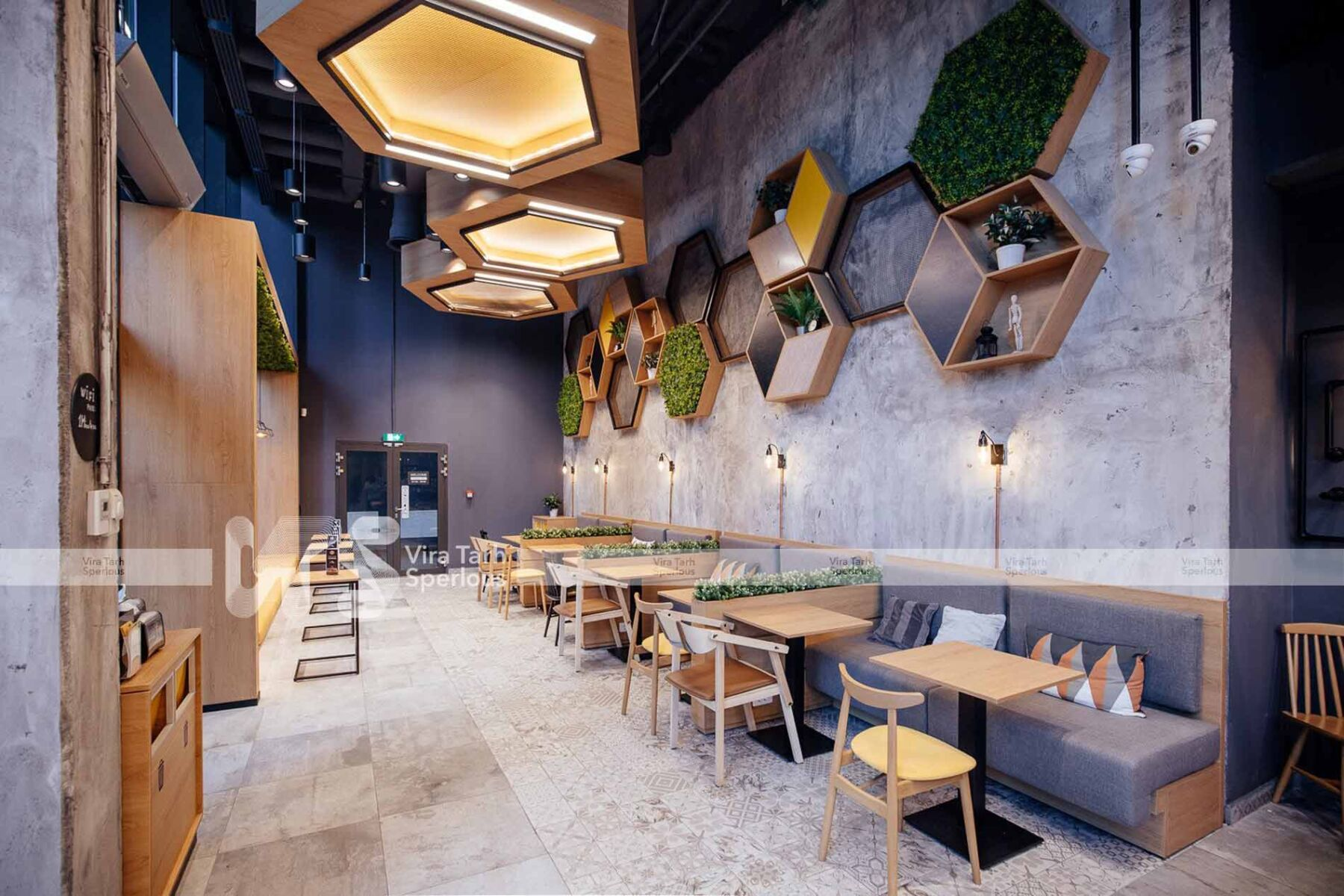 اصول طراحی رستوران