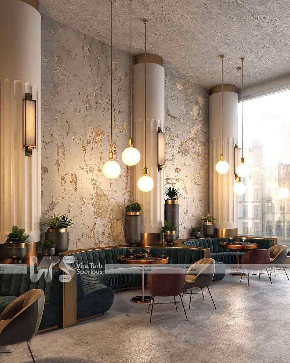 طراحی رستوران